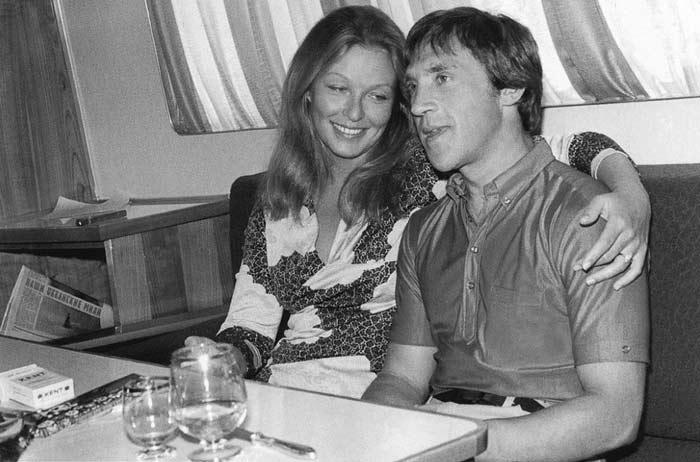 Viszockij és Marina Vlady
